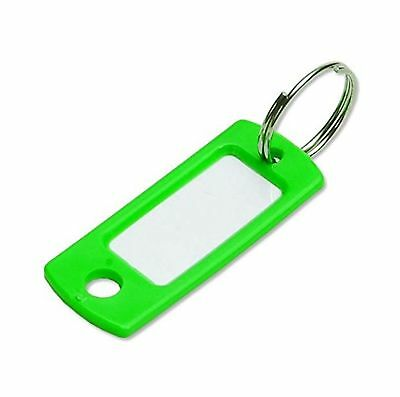 Lucky Line Key Tag With Ring; Green; 50 Per Bag (16940) NO TAX