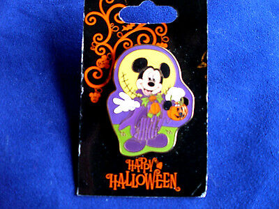 Disney * HALLOWEEN * VAMPIRE MICKEY & PUMPKIN BASKET * Holiday Trading Pin