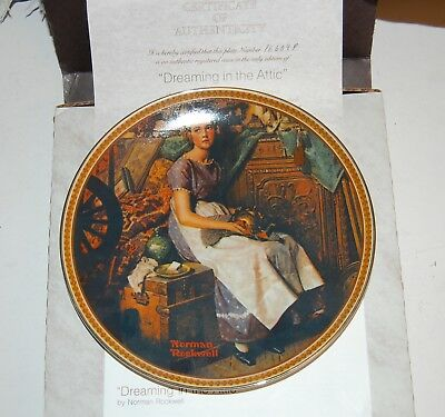 Complete Set 12 NORMAN ROCKWELL Knowles REDISCOVERED WOMEN Series Plates