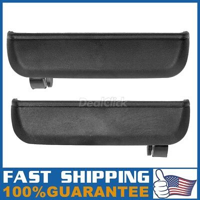 Exterior Rear Left LH Right Side Door Handle Pair For 1995-1998 TOYOTA TERCEL
