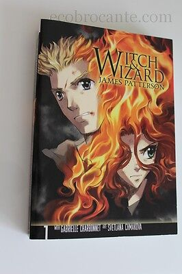 WITCH & WIZARD JAMES PATTERSON broché version Anglaise