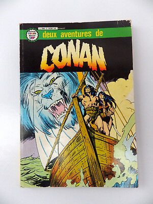 ALBUM N° 3 DEUX AVENTURES DE CONAN ARTIMA color marvel super star  N° 9-10