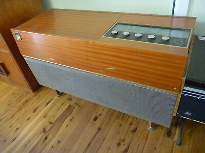 Vintage Radiograms Kriesler Multi Sonic Stereo And Hmv Viking