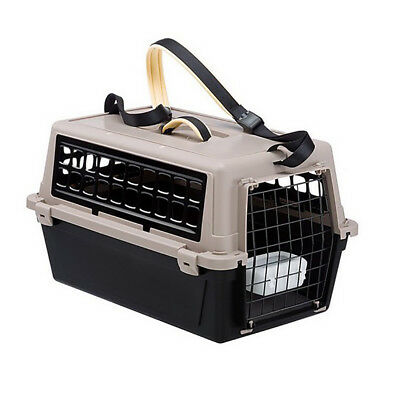 Trasportino per gatti e cani ATLAS 10 TRENDY PLUS NERO Ferplast 73027099