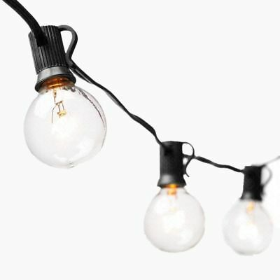 Outdoor Patio String Lights 7.5M G40 Globe Fairy String Light 25Bulbs