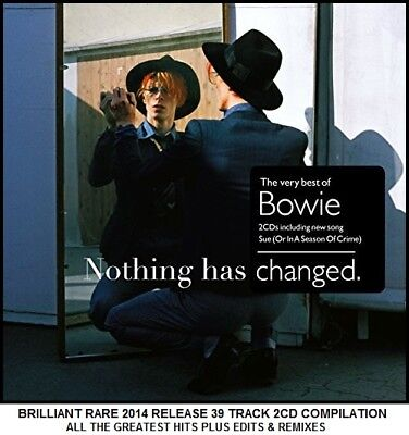 David Bowie - Very Best Greatest Hits Collection - RARE 2014 2CD 70's 80's 90's