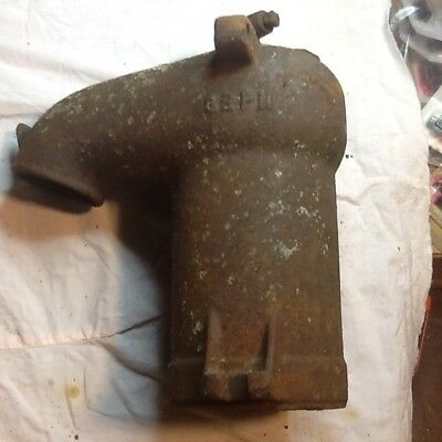 Antique Vintage Cast Iron Dempster Hand Well Water Pump Rustic Steampunk Part