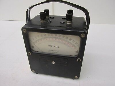 Weston Electrical Instrument Corp. Model 931 No.3845 Volts D.C. 42988EMU