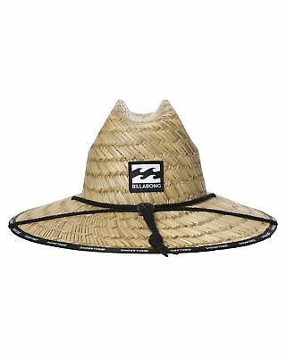 New Billabong Men's Waves Straw Hat Natural