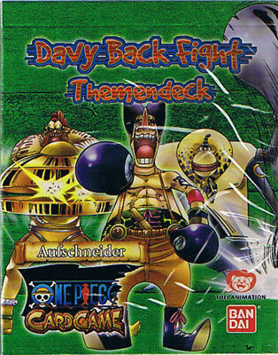 One Piece Davy Back Fight Themendeck, original verpackt