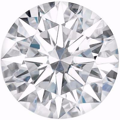 Moissanite VVS 1 Fancy White 0,75 Ct. 5,15 mm Brillant-Diamond