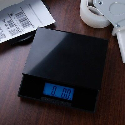 56 LB DIGITAL Shipping Postal Scale + Adapter + Batteries