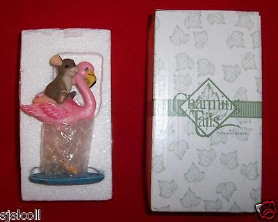 Charming Tails High And Dry Figurine NEW Fitz & Floyd