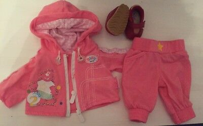 Zapf Creation Baby Annabell Dolls Deluxe Clothes Outfit