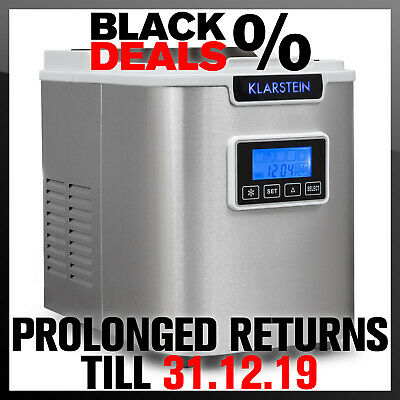 Ice Maker machine machine commercial 12kg /day Counter Top 150 W Bar Drinks