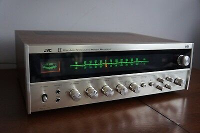 -= RARE Vintage JVC 4VR-5426X = CD-4 4 Channel Stereo Receiver Made in Japan =-
