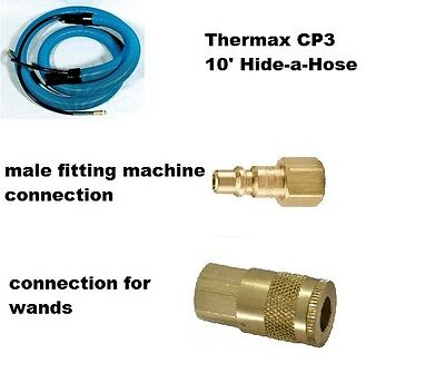 Vacuum Solution Hose   CP-3 Hide A Hose   Thermax Hot Water Extractor Hose