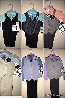 Valentines or Easter Boys Suits (Sizes New Born To 14) Limited Supply !!