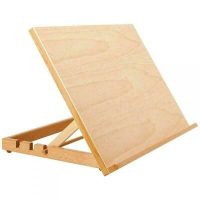 A3 Art & Craft Work Station Table Wooden Artist Easel Large Drawing Board