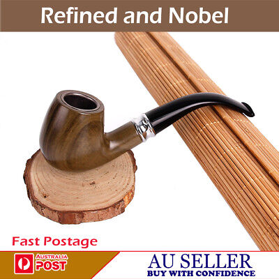 New Best Quality Rubber Ring Tobacco Smoking Smoke Wooden Look  Pipe Design-2