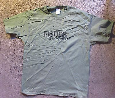 Fisher Stevenson (Country Singer) Brand New/unworn Large T-Shirt