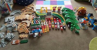 Fisher Price Geotrax train set huge 190+ piece collection