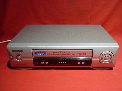 Samsung Sv-445B Vhs Vcr Video Player No Remote Working Please Read