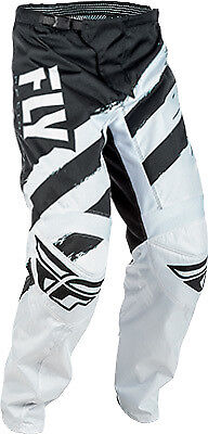 Fly Racing Off Road F-16 Pants All Sizes/Colors Black/White 18 2018 371-93018