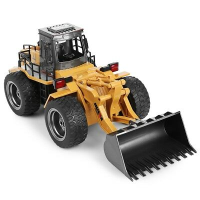 Metal Bulldozer Charging Truck Construction RC Car 6 Channel 1/14 RC
