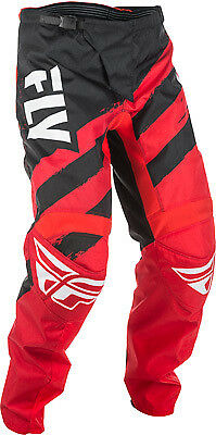 Fly Racing F-16 Pants 28 Short Red/Black 371-93228S 2018 371-93228