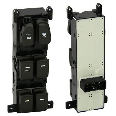 REPLACEMENT POWER WINDOW SWITCH FRONT LEFT for 08-10 HYUNDAI SONATA #93570-3K600