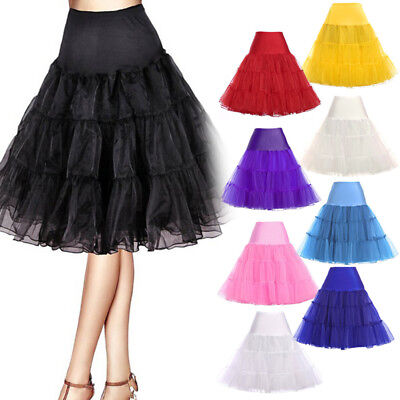 Sweet Style Tutu Skirt Princess Women Petticoat Tulle Long Dress Layered Dress R