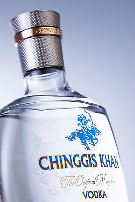 Chinggis Khan - The Original Mongolian Vodka / Super Premium Wodka / Vodka  1,0l