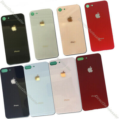 New For iPhone 8 & 8 Plus Battery Rear Glass Cover Housing Back Door Replacement