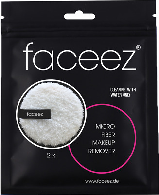 faceez®  Premium Mikrofaser Make-up Entferner Gesichtsreinigung Pads Set