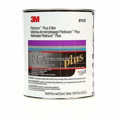 3m Platinum Plus Body Filler NEW WITH HARDNER