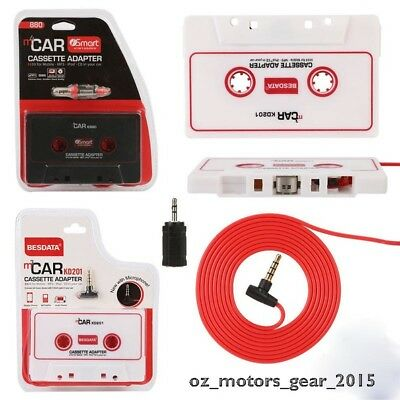 Audio AUX Car Cassette Adapter Converter Tape For Stereo MP3 iPhone Player New#2