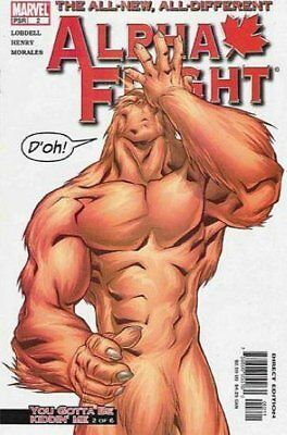 Alpha Flight (Vol 3) #   2 (VFN+) (VyFne Plus+) Marvel Comics ORIG US