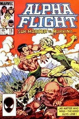 Alpha Flight (Vol 1) #  15 (VryFn Minus-) (VFN-) Marvel Comics AMERICAN