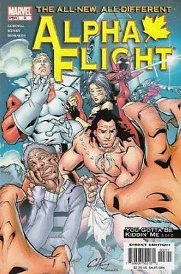 Alpha Flight (Vol 3) #   3 (VFN+) (VyFne Plus+) Marvel Comics ORIG US