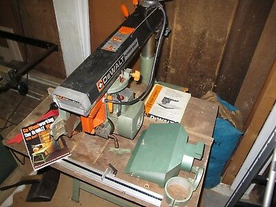 DeWalt 125 Powershop radial arm saw