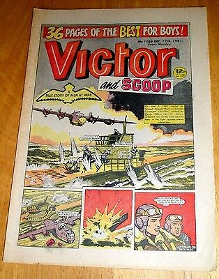 Coastal Command Liberator Sinks 2 German Subs Ww2 Cover Story In  Victor 1981