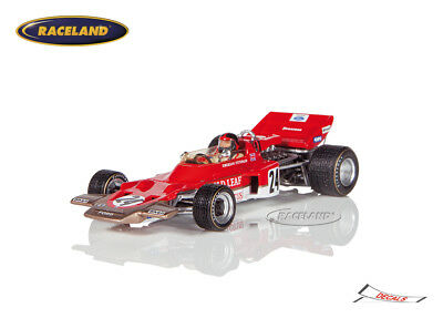 Lotus 72C Cosworth V8 F1 Gold Leaf 1° GP USA 1970 Emerson Fittipaldi, Spark 1:43