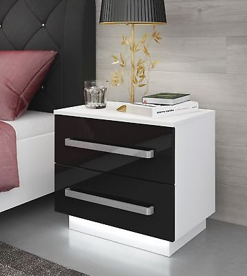 nachtkonsole landhaus kommode nachttisch nachtschrank schrank wei tisch shabby eur 36 35. Black Bedroom Furniture Sets. Home Design Ideas