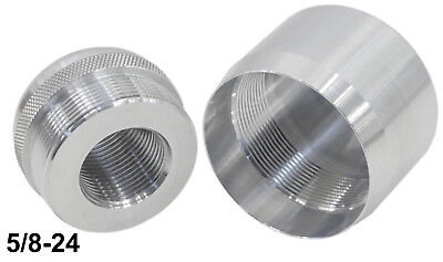 Maglite D Cell Replacement or Protective Combo Threaded End Caps M14X1RH