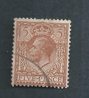 Great Britain Scotts  # 166 used
