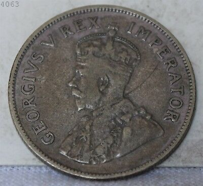 1935 *Silver* South African 2 1/2 Shilling *Free S/H After 1st Item*