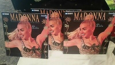 Madonna Blond Ambition World Tour Live 1990 Laser Disc