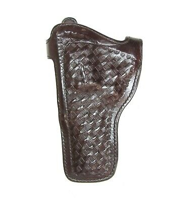 "S&W 4"" K Frame Ruger Speed 6 Service Six fits Leather Holster Left Hand"