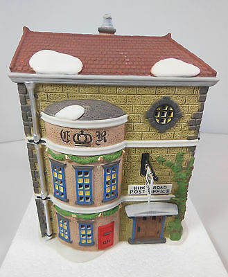 "Dept 56 Dickens' Village Series, ""king's Road Post Office"", Item #58017, Mib"